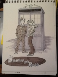 The Doctor & Rose for @melissaox